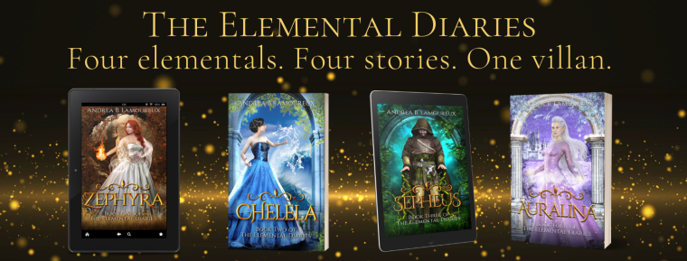 Elemental Diaries series banner